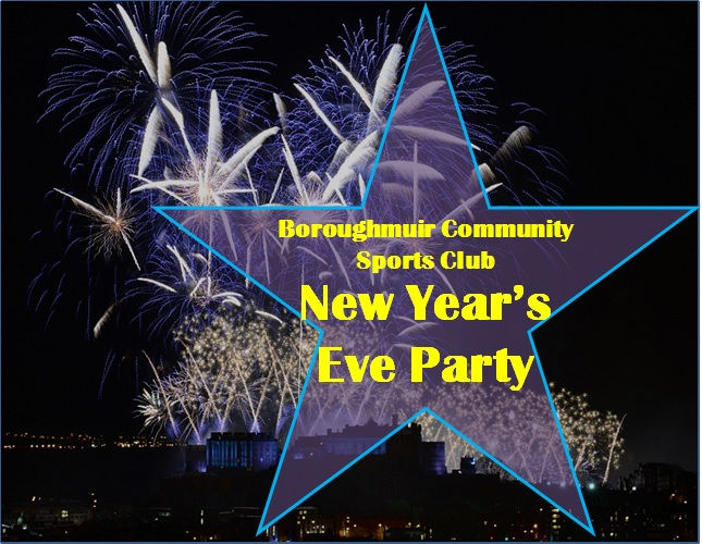 2015 New Year Party at Boroughmuir