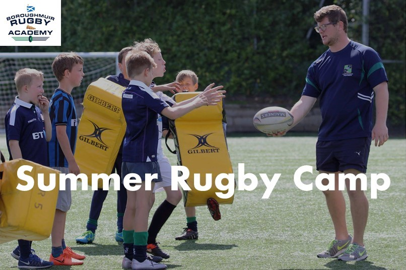 SUMMER P4 to S2 YOUTH RUGBY CAMP 2018