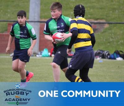Academy Youth Rugby at Boroughmuir Rugby, Edinburgh
