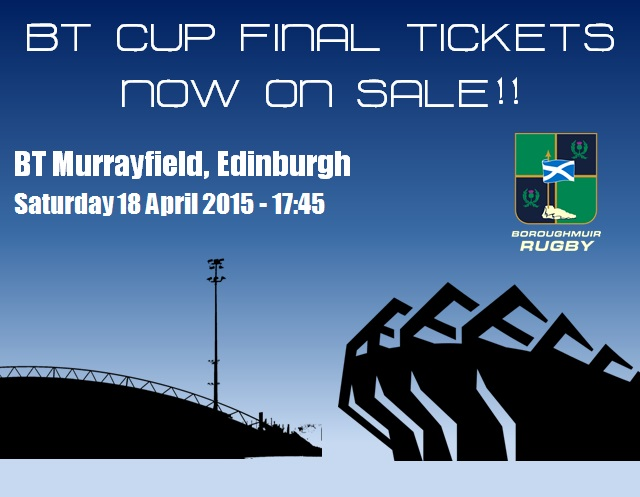 BT CUP FINAL TICKETS ON SALE NOW