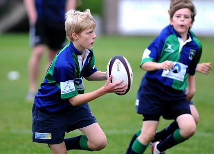 Youth Rugby at Boroughmuir Rugby, Edinburgh