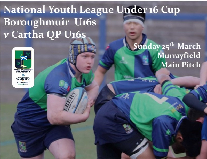 National Youth League Under 16 Cup Final - NEW DATE