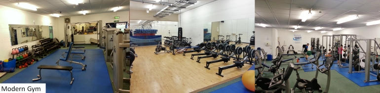 Gym at Boroughmuir Rugby