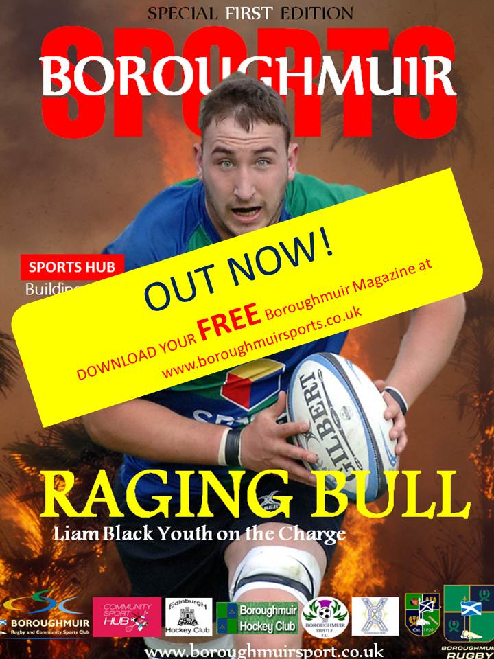Boroughmuir Sports 1st Edition